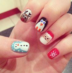 POT OF STUFF: Beauty: Christmas nail art