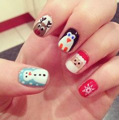 POT OF STUFF: Beauty: Christmas nail art