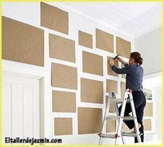 Sistema de plano en papel (haz tu composición antes de colgar los cuadros)