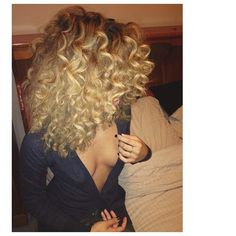Looks like curling wand curls at the top..