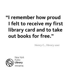Remember getting your first library card? http://on.nypl.org/co4kGc