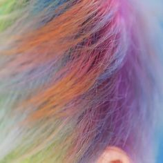 Ways To Up Your Hair Game in , hair color idea, Pretty Hairstyles, Braided Hairstyles, Wedding Hairstyles, Pelo Multicolor, Creative Hair Color, Hair Game, Rainbow Hair, Crazy Hair, Hair Videos