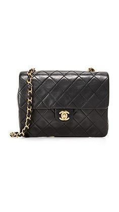 e24a9713e1f5 What Goes Around Comes Around Chanel Half Flap Bag (Previously Owned)   Chanelhandbags Rachel