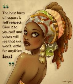 Inspirational quotes Black Love Art, Black Girl Art, Black Girl Magic, Art Girl, African American Art, African Women, African Art, Queen Quotes, Girl Quotes