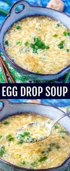 Quick, easy and comforting this Egg Drop Soup Recipe is as simple as they come with great flavor that will warm you up on a cool day! Recettes de cuisine Gâteaux et desserts Cuisine et boissons Cookies et biscuits Cooking recipes Dessert recipes Chinese Soup Recipes, Authentic Chinese Recipes, Easy Chinese Food Recipes, Easy Asian Recipes, Cooking Recipes, Healthy Recipes, Quick Food Recipes, Cooking Bacon, Diet Recipes