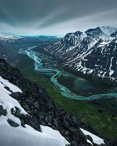 Sarek National Park in Sweden Photography by @maxrivephotography