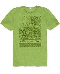 Men's Organic Cotton Graphic Tee | Hippie Clothes | Soul Flower