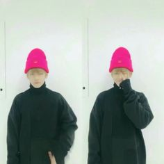 V ❤ [BTS Trans Video Tweet] 아미밖에난몰라 / I don't know anything except for ARMY (IDK anything except for that pink beanie makes cuTAE even more cuTAE lol) #BTS #방탄소년단