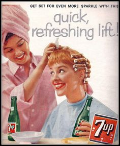 1958 7-up ad #DressingRoom