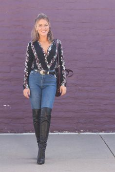 How to Rock the Thigh High Boot Trend - Every Once In A Style