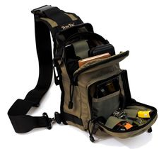 8f07f7f30bdf4 The TravTac Metro Sling Bag is designed to carry your daily essentials.  Small enough to