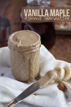 Vanilla Maple Almond Sunbutter