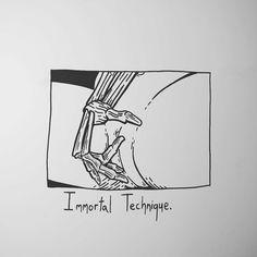 "18.2k Likes, 137 Comments - Matt Bailey (@baileyillustration) on Instagram: ""Immortal Technique."""