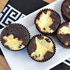 Black Bottom Cupcakes --- These are delicious!  I use cake mix, though... 'cause I'm lazy. ;D