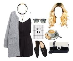 """Untitled #1309"" by rachel-rentz ❤ liked on Polyvore featuring Lacey Ryan, H&M, Wet Seal, Chanel and Ray-Ban"