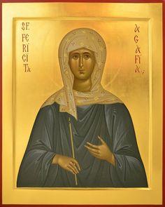 Byzantine Icons, Catholic Art, Christian Art, Mona Lisa, Saints, Religion, Artwork, Pictures, Female