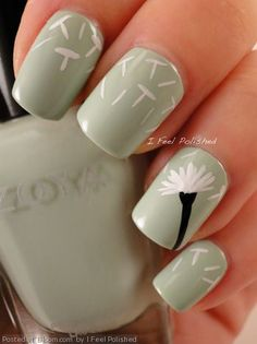 Spring nails | See more at http://www.nailsss.com/...  | See more nail designs at http://www.nailsss.com/nail-styles-2014/2/