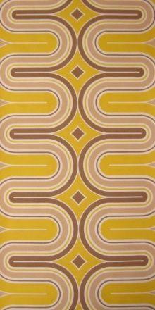 70s bold geometric : Vintage wallpaper