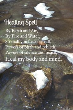 Healing Spell #pagan  #witchcraft #magick         i have tryed it and it works so well