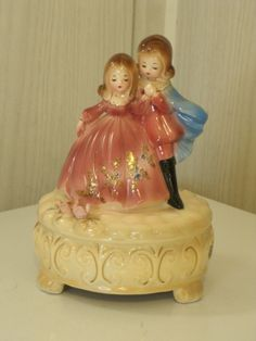Vintage Josef's Original Music Box Romeo and Juliet by NeverTooOld, $45.00