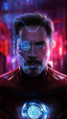 Tony Stark Iron Man iPhone Wallpaper - on