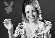 Sandy entrevista para a Revista Playboy