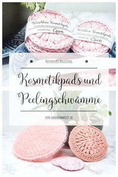 Crochet Cosmetic Pads - Free Instructions and Banderole for Printing - . Crochet Cosmetic Pads - Free Instructions and Banderole for Printing - Crochet Cosmetic Pads - Free Instructions and Ban. Easy Knitting Projects, Knitting Blogs, Knitting For Beginners, Free Knitting, Knitting Patterns, Diy Projects, Knitting Ideas, Knitting Yarn, Upcycled Crafts