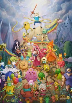 Cartoon Adventure Time, Adventure Time Art, Adventure Time Characters, Cartoon Shows, Cartoon Characters, Abenteuerzeit Mit Finn Und Jake, Finn Jake, Adveture Time, Land Of Ooo