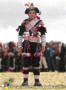 Vestimentas típicas Huancavelica