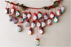 How to make an advent calendar out of toilet rolls? Here are 7 homemade advent calendar ideas for your inspiration. Each toilet roll craft Homemade Advent Calendars, Advent Calendars For Kids, Diy Advent Calendar, Kids Calendar, Christmas Decorations For Kids, Winter Crafts For Kids, Christmas Crafts For Kids, Christmas Stuff, Christmas Ideas