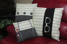 Here's a sewing tutorial on how to sew pillows with quilted fabrics. Sewing With Nancy Zieman uses Riley Blake quilted fabrics to easily sew three pillows. Book Pillow, Reading Pillow, Pillow Cases, Patch Quilt, Quilting Projects, Sewing Projects, Sewing Tips, Sewing Hacks, Sewing Crafts