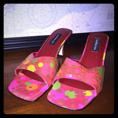 Pink sequin heels!!! NWT pink sequin heels!!! Shoes Heels