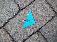 Groen/blauwe marker   Kleding markers   Baggie