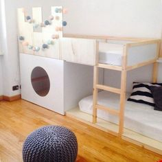 35 Cool IKEA Kura Beds Ideas For Your Kids' Rooms - DigsDigs
