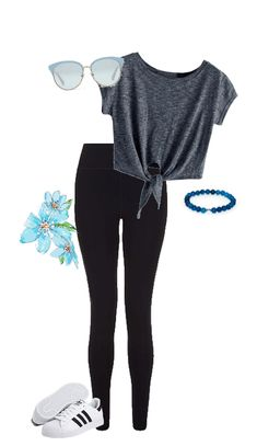 simple blue outfit for school back to school 2018 school effortless casual Outfit Ideas For Teen Girls, Teenage Girl Outfits, Kids Outfits Girls, Teen Fashion Outfits, Tween Fashion, Mode Outfits, Clothes For Teenage Girls, Simple Outfits For Teens, Casual Teen Fashion