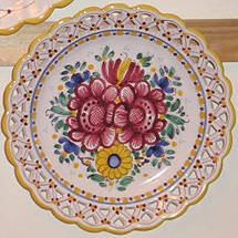 Modra ceramics, made near Bratislava, Slovakia Tea Restaurant, Contemporary Decorative Art, Bratislava Slovakia, Heart Of Europe, Wooden Case, Naive Art, My Heritage, Shops, Flower Art