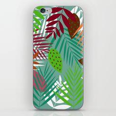 Leaves Jungle iPhone & iPod Skin