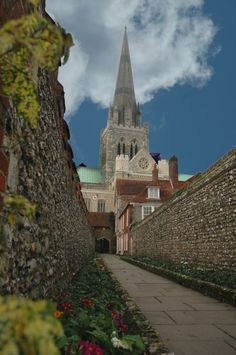 Chichester Cathedral, Sussex, England. My Garrett family came from there originally.