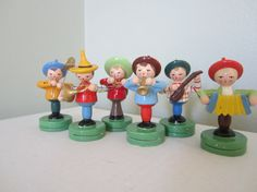 vintage place-card holders, tyrolean band
