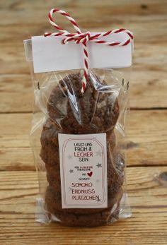 Schoko Erdnuss Plätzchen Biscotti cioccolata archaidi http://werkstatt-officina04.blogspot.it