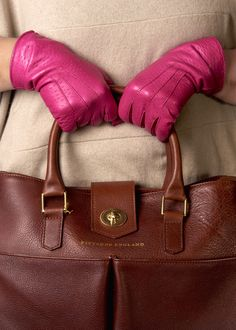 Product photography, leather hand bag by Pittards #productphotography #advertisingphotography #fashionphotography #pinkgloves #style