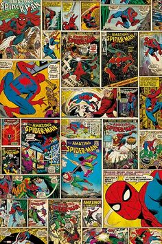 Marvel Spiderman Comic Covers Regular Poster (01-6801)