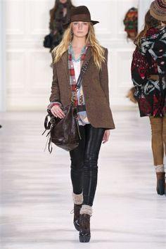 Ralph Lauren - New York - Autunno Inverno 2014/2015 - Sfilate - MarieClaire