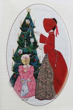 bonnet+girls+patterns+of+the+past | Bonnet Girl Patterns of The Past Pattern Book Applique | eBay