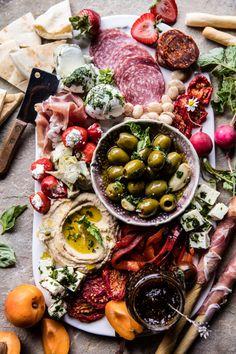 Greek Inspired Antipasto Platter