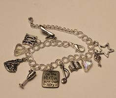 Angelica Schuyler Inspired Charm Bracelet Musical by musicissanity