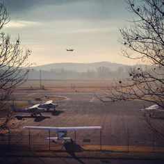 Liberty University Aviation students take off at morning light