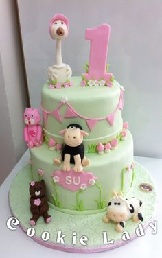 1 year cake#1 yaş pastası#birthday Cake