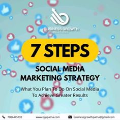 Here are 7 expert strategies to give your Social Media presence an influential boost. To know more, visit www.bgspatna.com WhatsApp 7004475792. #SocialMediaMarketing #Strategy