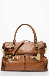 camel brown coach bag